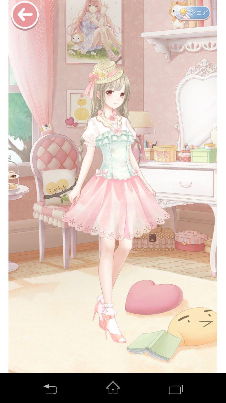 メッチャ可愛いお洋服音莉ちゃんのイラストいただきました暇人の