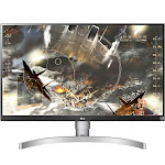 "LG 27UK650-W - 27"" IPS LED Monitor - 4K UltraHD - Silver"