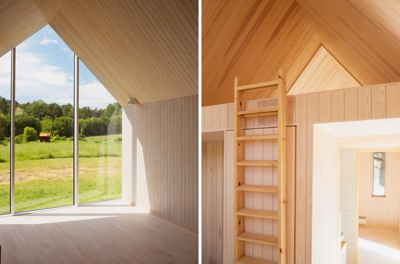 arquitectos Ramstad Reiulf clúster micro cabañas noruega designboom