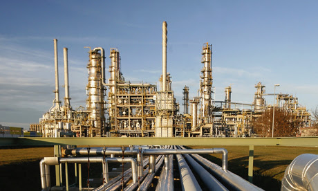 Total oil refinery