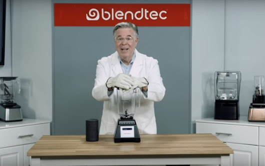 Marketing viral cu Blendtec