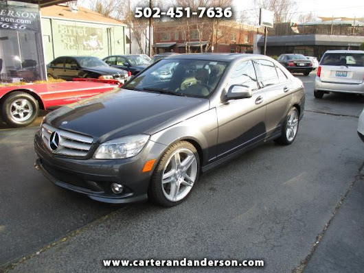 Used 2009 Mercedes-Benz C-Class for Sale in Louisville KY 40204 Carter & Anderson Motorsports