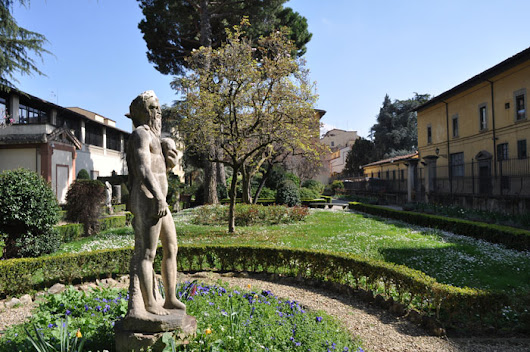 Florence archaeological museum garden