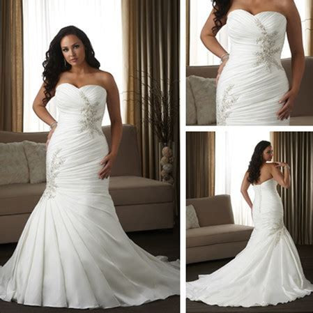 WD1537 Corset cheap plus size wedding dresses for big girl