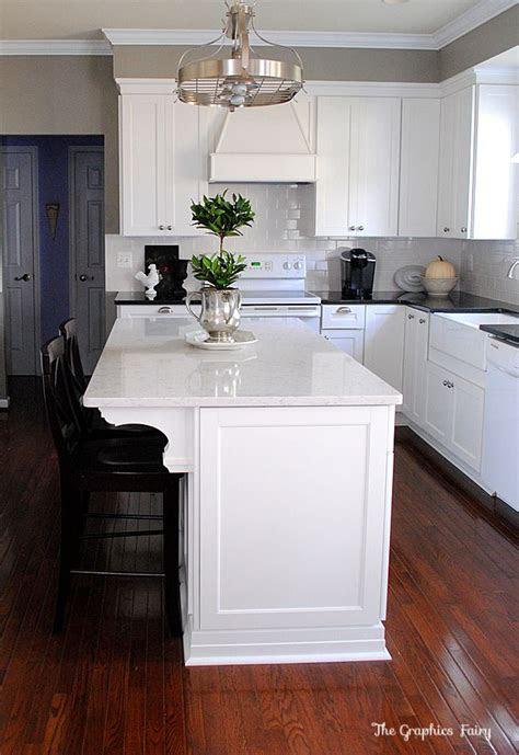 kitchen renovation reveal countertops  kitchen