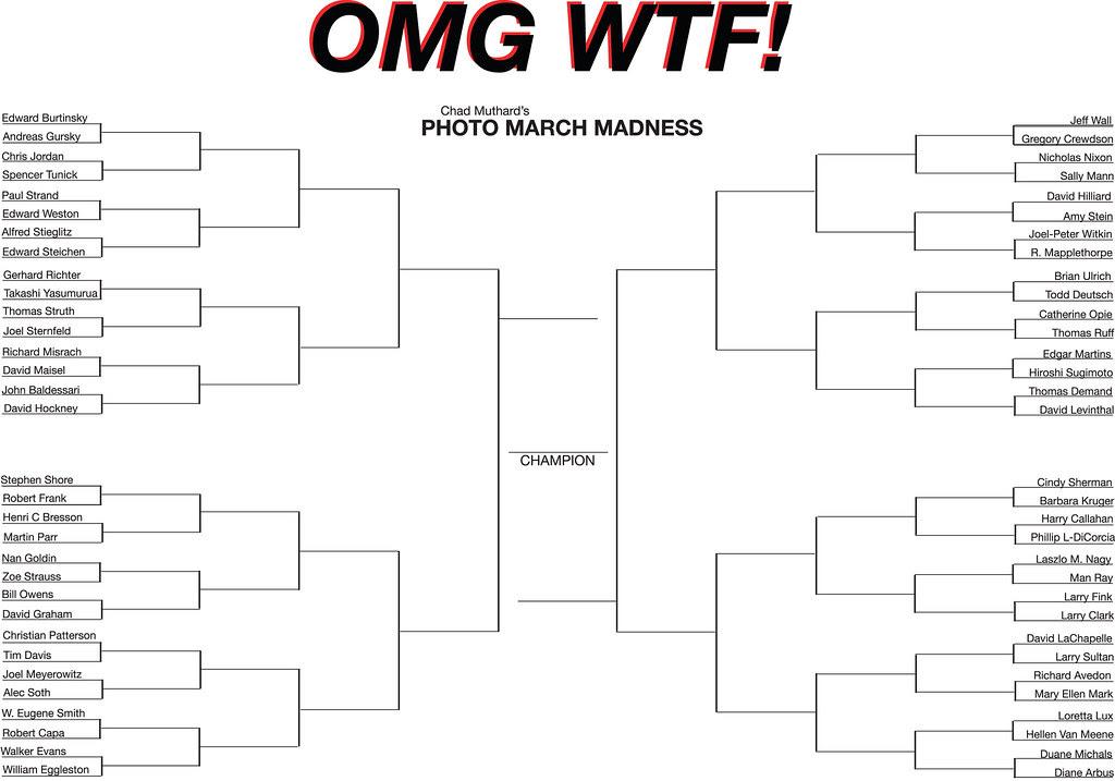 photo bracket tournament