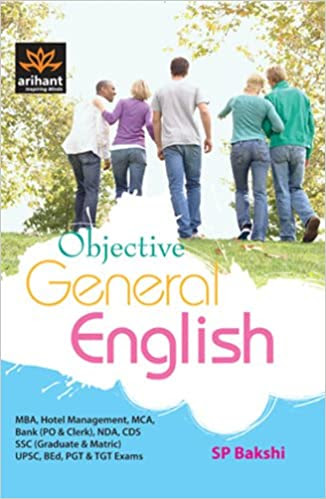 Free-Book: Arihant Objective General English by S. P. Bakshi [PDF]