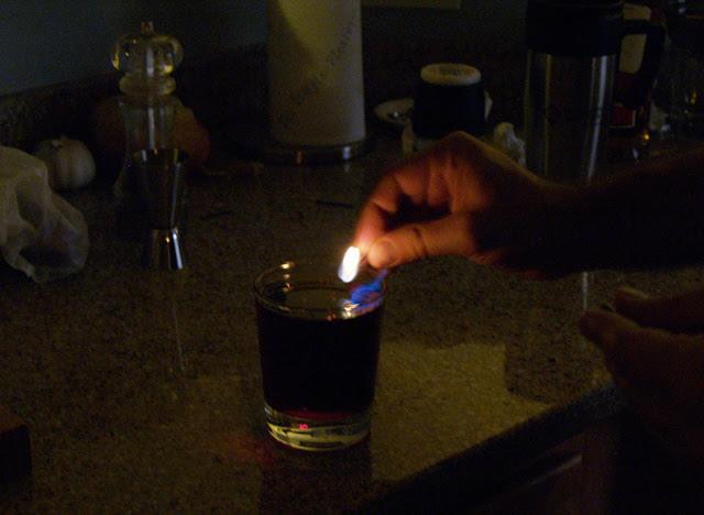 Lighting the Flaming Moe