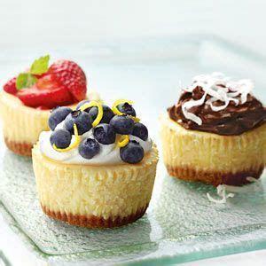 Mini Cheesecakes Recipe provided by Philadelphia® Cream