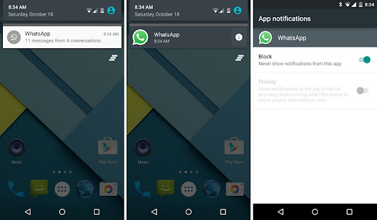 Managing App Notifications on Android 5.0 Lollipop