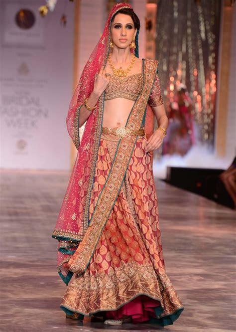 Models walking the runways for designer Neeta Lulla at