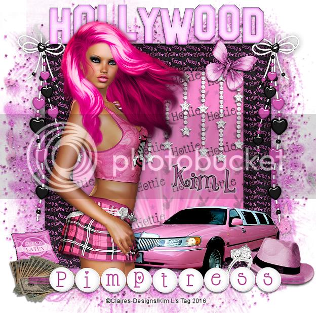 """Kim L's Creations: FTU """"HollyWood Pimptress"""" Tut"""