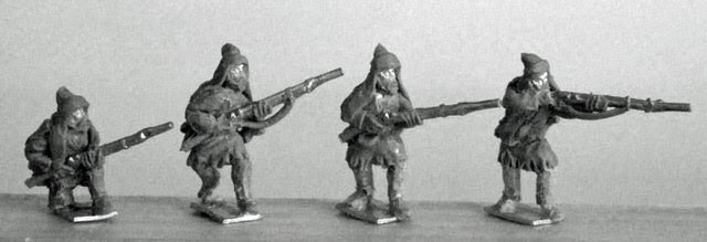 Caucasian Infantry with Turkish Muskets