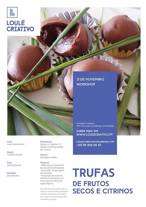 Workchoco de Trufas de Frutos Secos e Citrinos