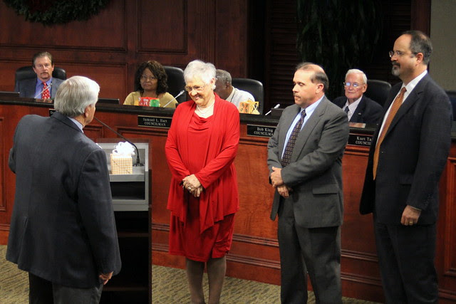 A bid farewell to 3 outgoing Council Members
