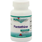 Nutricology - Pantethine - 60 Vegetarian Capsules