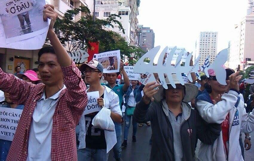 Ô nhiễm môi trường có thể khiến cộng sản suy sụp ở Việt Nam