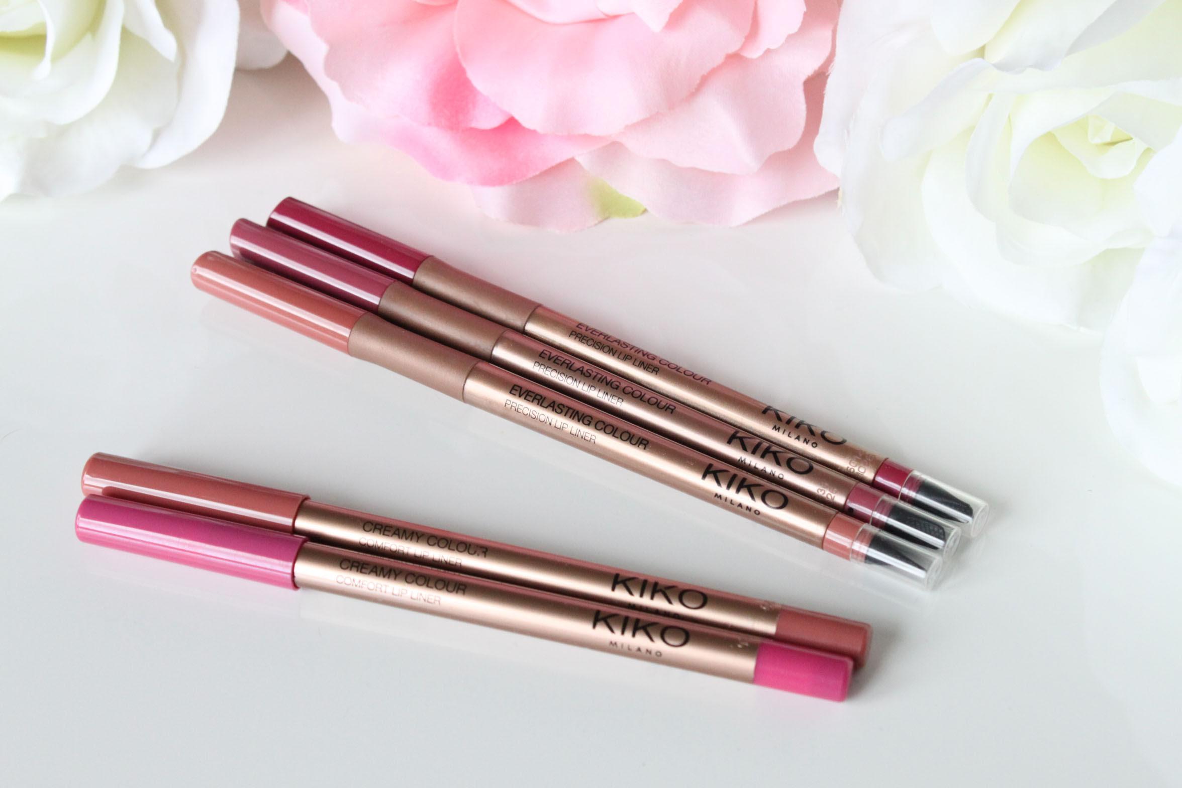 Crayons à Lèvres Kiko Meilleurs Rouges à Lèvres Mats Du