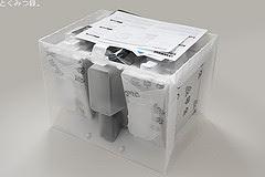 箱の中身 衝撃吸収材 ヤマハ パワードスピーカー オレンジ NX-50(D)