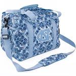 North Carolina Tarheels UNC Duffel Bag Bloom Quilted Mini Travel Bag