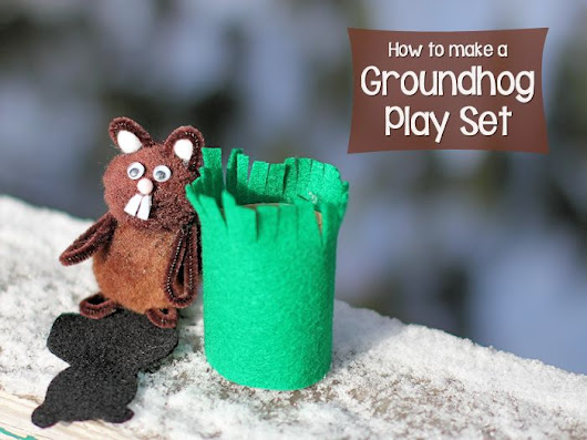 How to Make a Groundhog Play Set – About Family Crafts