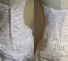 How to make a corset from a zippered dress that is too