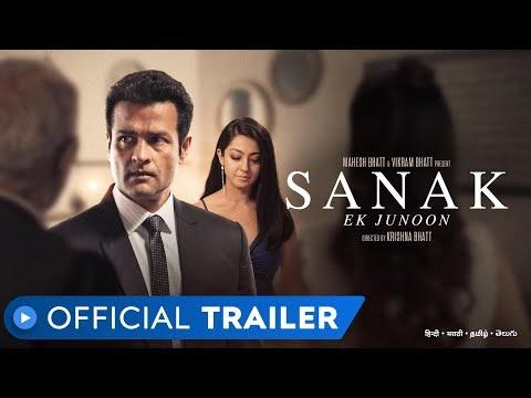 Sanak - Ek Junoon Hindi Movie Trailer