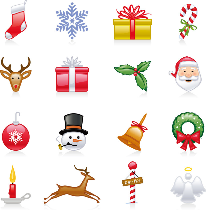 クリスマスのデザインエレメントの無料イラスト Eps ベクター Ai