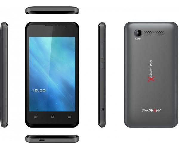 Symphony Xplorer W21: Full Phone Specifications & Price