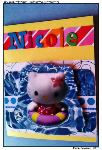 Nicole's 5th bday card