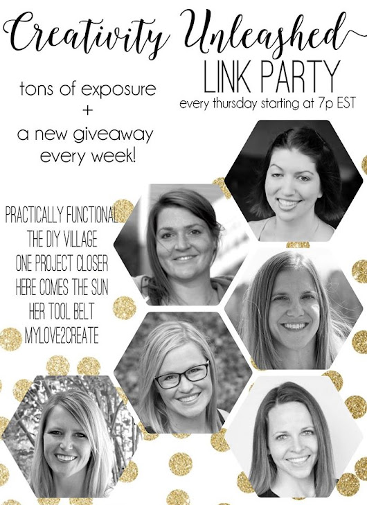 Creativity Unleashed #142 Link Party - Her Tool Belt