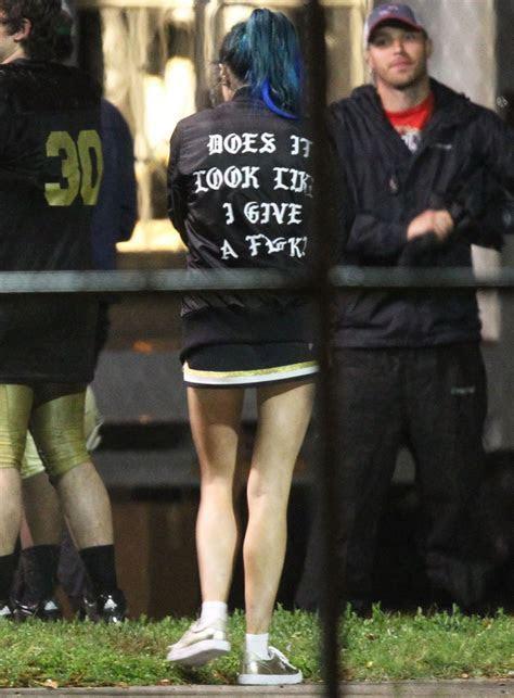Bella Thorne   Filming Scenes for ?Assassination Nation
