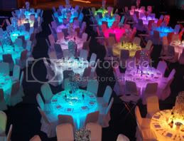 led banquet tables in a ballroom1