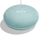 Google Home Mini Smart Speaker - Wireless - Aqua