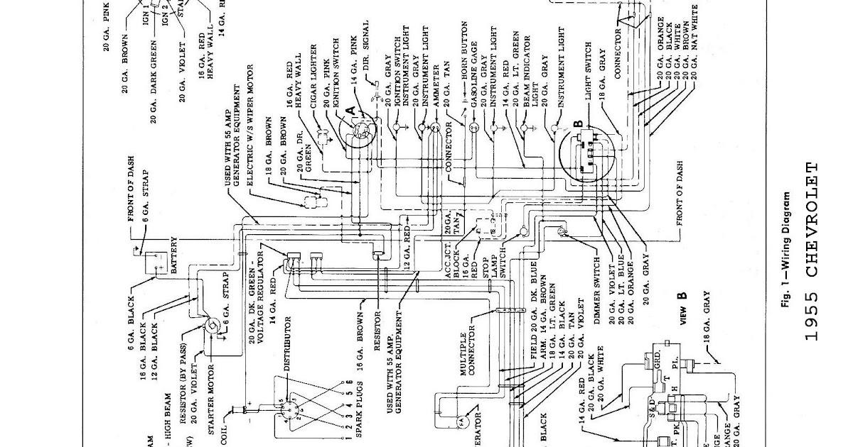 1956 Chevy Wiring Diagram