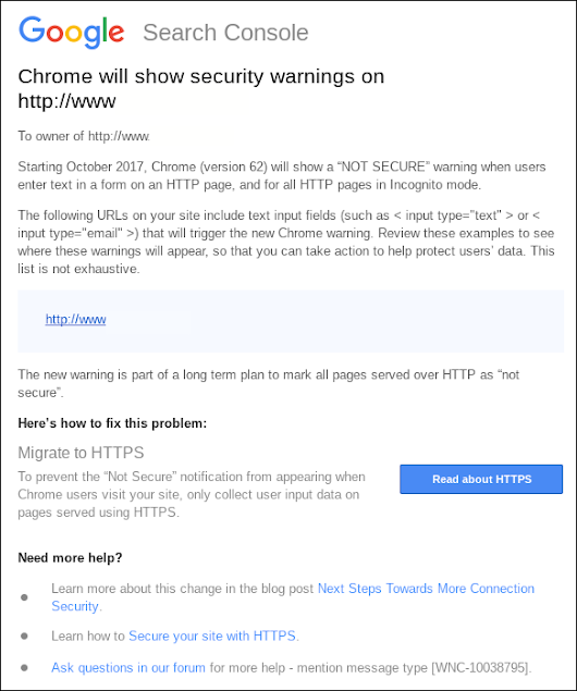 Will you be ready for Google Chrome's HTTPS update? - Cazbah