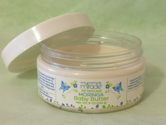 MUMMY'S MIRACLE – ALL NATURAL MORINGA BABY BUTTER.