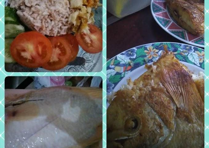 Cara Praktis Membuat Gurame padang goreng sambal korek Bikin Nagih