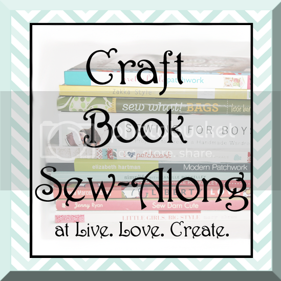 Craft Book Sew Along at Live. Love. Create.