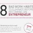 8 Bad Habits that Will Destroy Your New Business - BrandonGaille.com