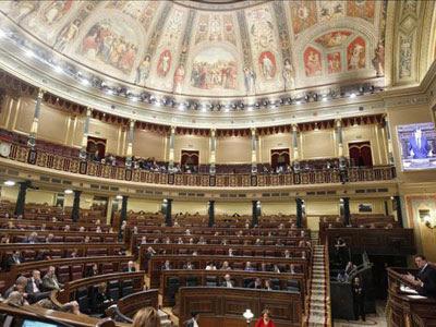 Una sesión plenaria en el Congreso de los Diputados.