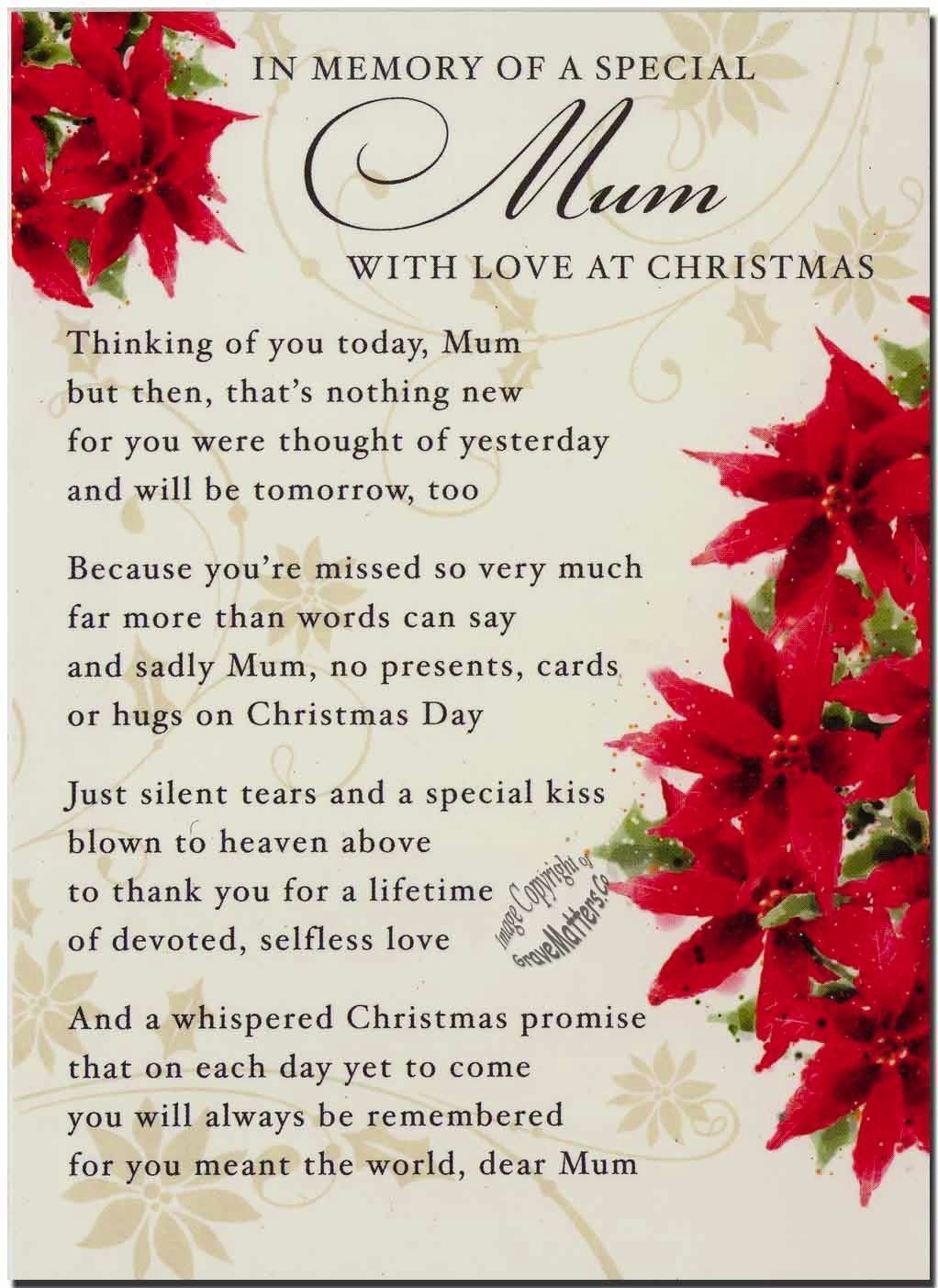 Christmas Card Sayings To Mother In Law Sinter D