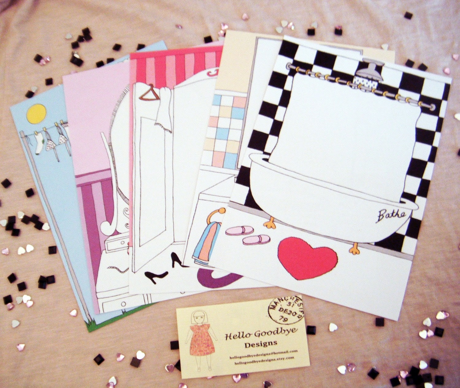Household Letter Writing Set