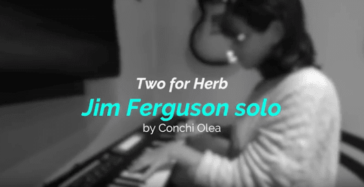 MACARRONI TV presenta: Two for Herb (Conchi Olea)