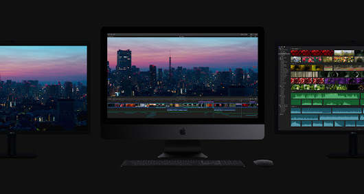 iMac Pro, with Xeon processors up to 18 cores, is available worldwide today