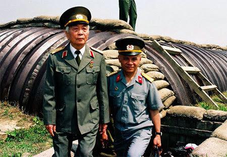 Ký ức Điện Biên, Đại tướng Võ Nguyên Giáp, Đỗ Minh Tuấn