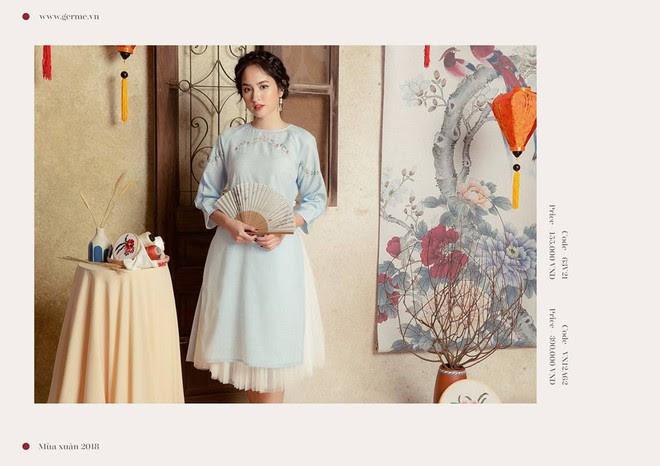 3 công thức diện áo dài cách tân đẹp miễn chê trong Tết này - Ảnh 10.