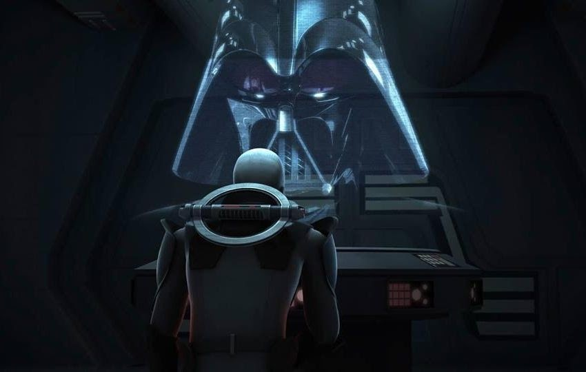 Watch Darth Vader's Cameo in 'Star Wars Rebels' ~ THE ...