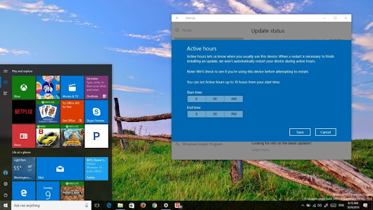 Hands-on with Windows 10 build 14942 new Start menu, Registry, Settings (video) • Pureinfotech
