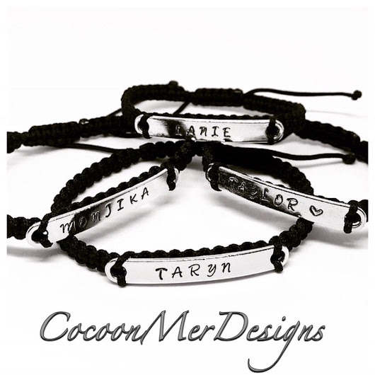 Handmade Jewelry. Personalized bracelets. Watches. por CocoonMerDesigns